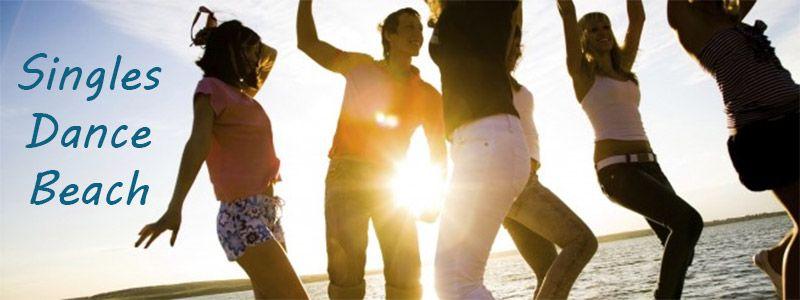Singles dance beach