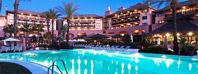 Vista de Hotel Islantilla Golf Resort