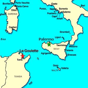 tunez palermo Atentado en Túnez: Cambio de itenirario de los cruceros por el Mediterráneo