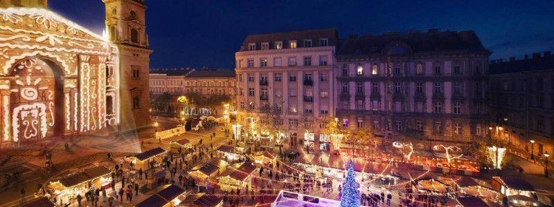 Mercados Navideños en Budapest