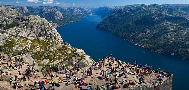 Fiordos de Noruega en Verano 2020