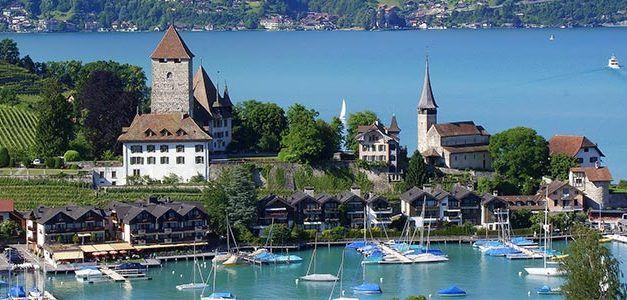 Paisajes de Suiza y Alemania