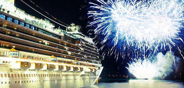 Fin de Año de Lujo a bordo de Costa Cruceros