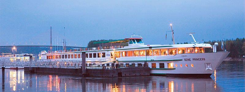 Crucero Fluvial París, Castillos del Loira y Normandia