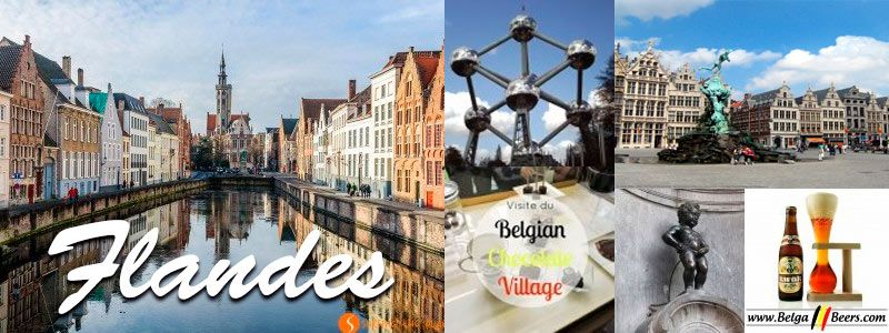 Flandes: Ruta de la Cerveza y el Chocolate