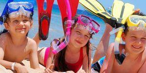 niños buceo 300x150 Calendario de Viajes Singles
