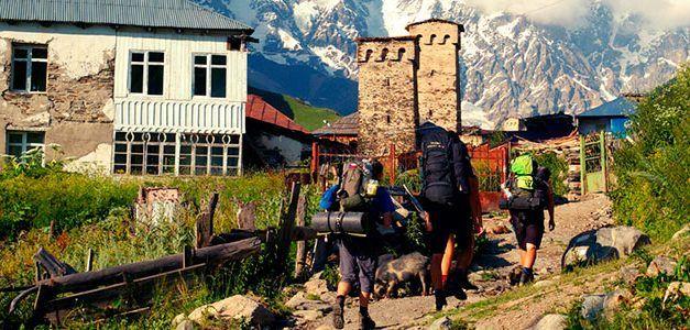 Trekking en Georgia: Tierra de los Picos y Torres