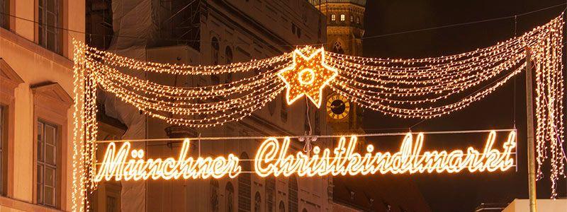 Mercadillos navideños en Munich en Puente Diciembre