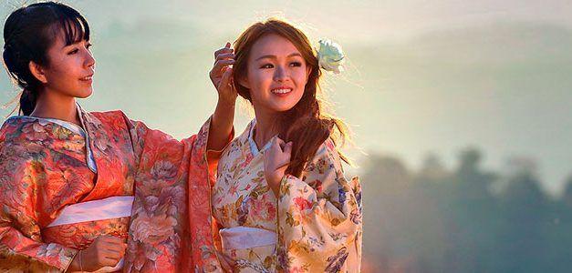 Bellezas de Japón: Geishas y Samurais