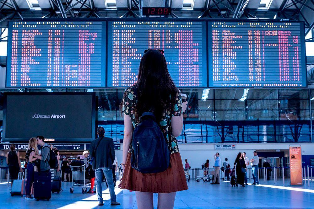 aeropuerto viajar sola Viajar solo, una opción muy interesante cada día con más seguidores.
