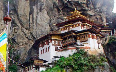 Butan fortaleza de Takshang 400x250 Vacaciones Singles