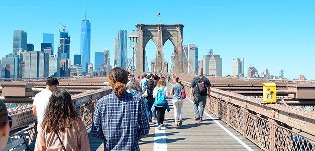 Singles a Nueva York en grupo