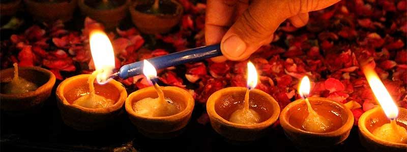 Festival de luz Diwali: Fiesta de luz y de amor