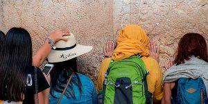 Israel en muro lamentaciones