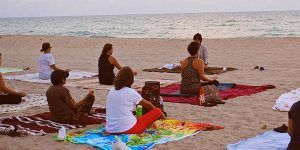 Meditación en Playa