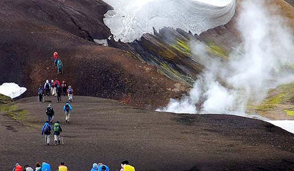 Trekking Landmannaulaugar en Islandia Islandia: Trekking del Landmannaulaugar
