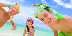niños actividades acuaticas